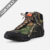 Waterproof Lightweight Shoes, Low Cut Camouflage Canvas Ankle Boots for Men Running Hiking
