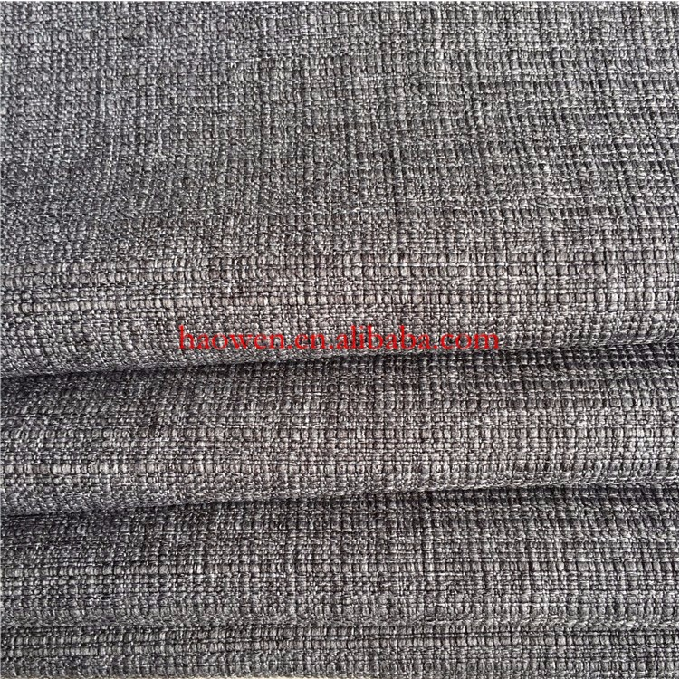 300D*300D Plain Cloth Bamboo Lattice Mini Matt For Table Cover Polyester Imitation Linen Fabric Coarse Sheeting
