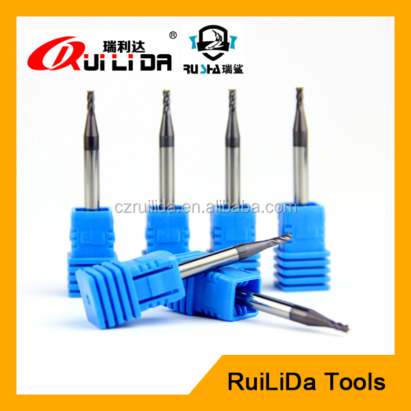 HRC45 tungsten carbide end mill cutting tools supplier