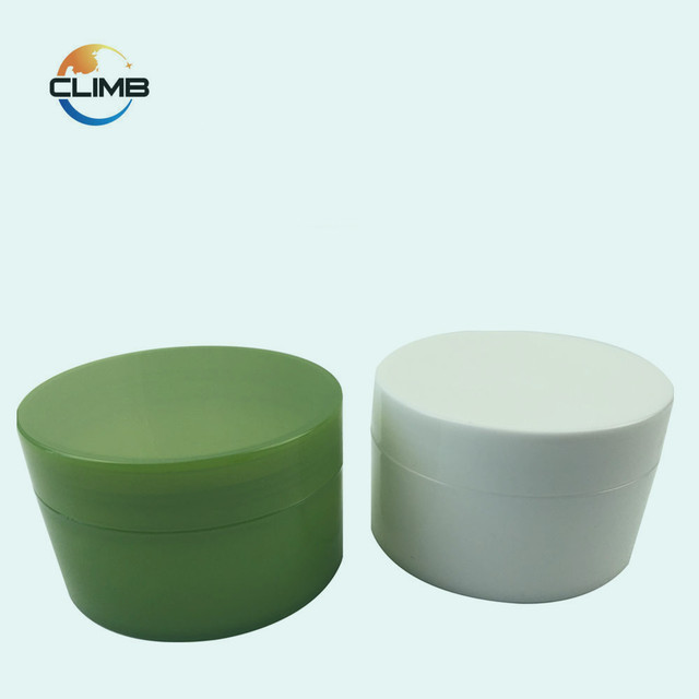 High Quality OEM Plastic 100g PP jars 50g white cosmetic jar plastic cream jar hair product container wholesale