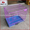 Folding Wire Acrylic Dog Pets Kennel/Crate/Cage