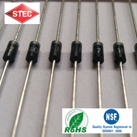 Top Oversea Diodes Supplier HIGH EFFICIENCY RECTIFER DIODE HER108 OF 1A 1000V 75NS