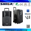 2016 OEM Service High Quality Power Audio Woofer Speakers With FM Radio