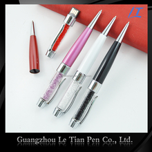 Business souvenirs USB metal ball pen, crystal metal pen for gift