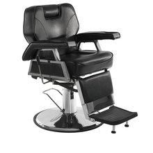 Old Style Salon Black Hair Cut Wholesale Barber Chair