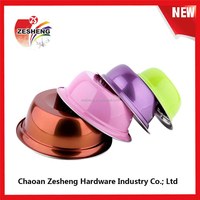 Colorful Stainless Steel Color Deep Wash Basin