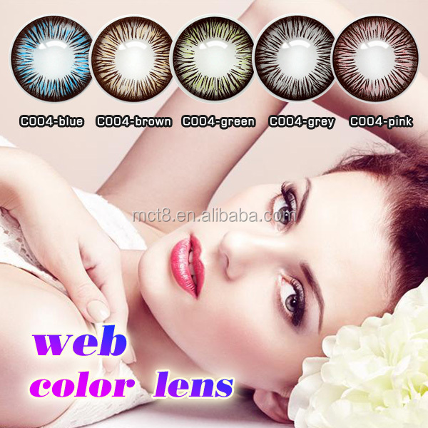 Blue,Violet, Gray, Hazel,Brown Lenses Color and 1Year Using Cycle Periods Korea Color Contact Lens