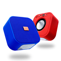 Cloth Stereo Mini Outdoor Wireless Speaker Portable BT Subwoofer Louderspeaker Support TF Card