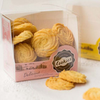 Nice Paper Biscuits Or Cookies Packaging