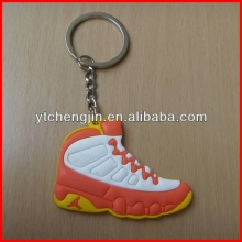 Orange White Yellow AJ 9 keychains for jordan sneakers wholesale