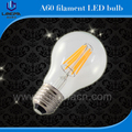 filament led bulb 2W 4W 6W 8W A19 B22 E26 E27 UL led filament bulb dimmable