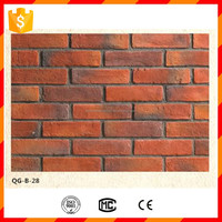 High quality light weight waterproof exterior rustic decorative bricks for wall cladding
