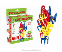 educational balance chair game stacking chair game for kids