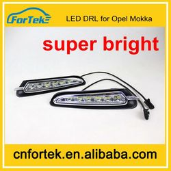 Auto parts led drl daytime running light used cars for sale for opel mokka