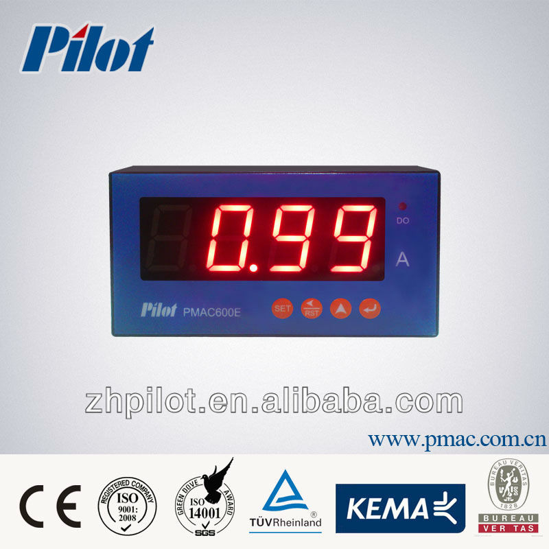 PMAC600E digital voltage meter, digital current meter, digital panle meter
