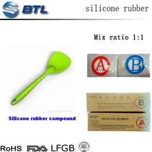 Various colors silicone for measuring spoon