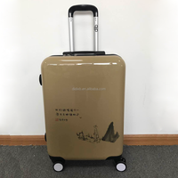 Customized Designer Abs Pc Travel Luggage