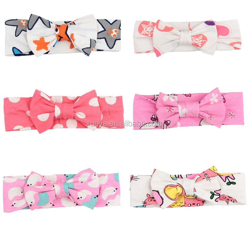 China supplier bowknot headbands hair accessories for kids for Easter Day