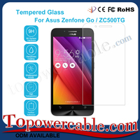 Ultra Thin Mobile Phone Tempered Glass Screen Protector For Asus Zenfone Go Zc500Tg 4.5