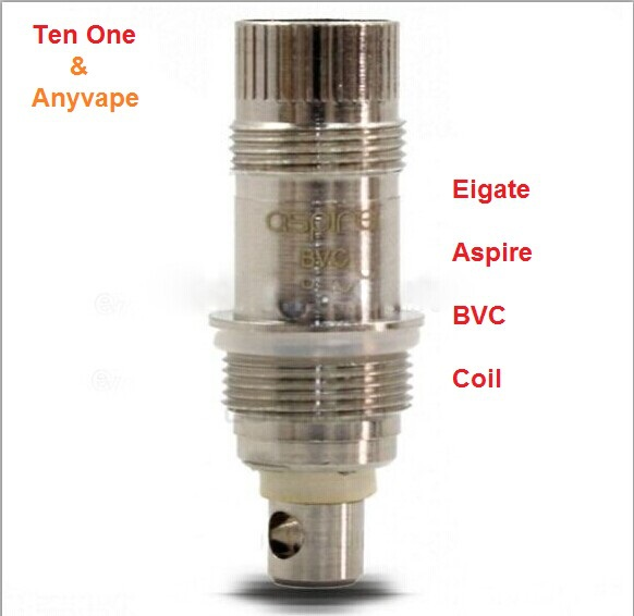 Wholesale Stock Eigate Aspire BVC Coils for BVC/BDC Aspire atomizers with fast shipping!!