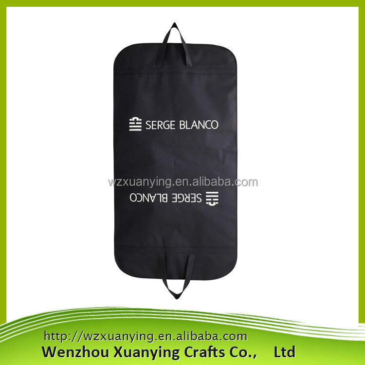 Top Quality Customized Waterproof Lightweight foldable non woven garment bag wholesale