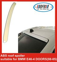 ABS PLASTIC CAR REAR ROOF SPOILER WING for BMW E46-4 doors 1998-2005