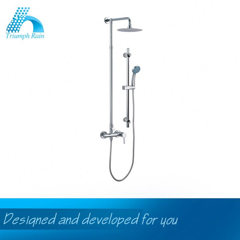 Highest Quality Wholesale Embroidery Design Water Saving Shower Faucet With Side Jet