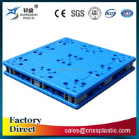 1100*1100*170 double faced heavy-duty euro plastic pallet