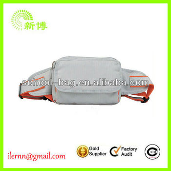 new fashion leather waterproof waist bags for men