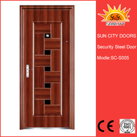 SC-S005 South Africa Modern Classic Steel Doors With Competitive Prices