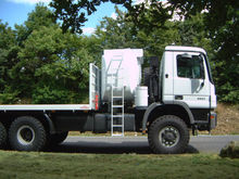 Tank and Service Truck (6x6) for oil field