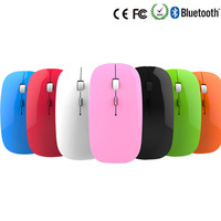 Fashion Colorful Thin Comfortable Optical light USB Wireless Mouse for Macbook All Laptop Mouse