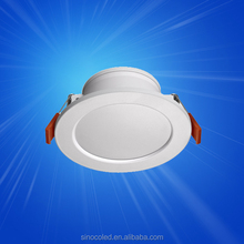 LED Light Source and CE,RoHS Certification aluminium cut out 60mm recessed 5W cob led downlight ce rohs
