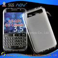 mist side pudding TPU soft mobile cell phone cover case shell for Blackberry BB Classic Q20