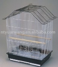 2015 new design black color commerical best material vintage wire bird breeding cage