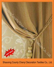 new 100%polyester jacquard curtains and draperies