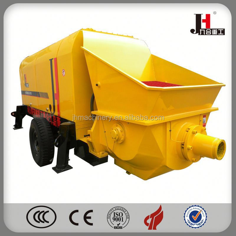 Mobile Diesel Larger Concrete Pump