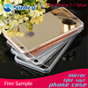 mirror cellphone case for iphone7 plus,mirror bag case cases soft hybrid phone smartphone cell mobile cover phone
