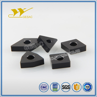 CNMA carbide coated turning insert for cast iron high speed application