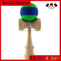 free shipping yiwu factory direct wooden kendama toy