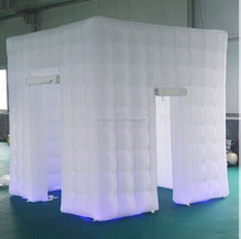 Digital photo booth for sale with LED Lighting inflatable 3d photo booth