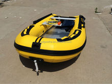 GTS330 Five People inflatable rubber motor boat with aluminum floor