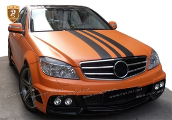 c class W204 2008-2011 year Mercede bens body kit wd facelift with fenders big bodykit
