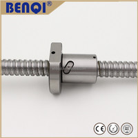 Single nut high presicion hiwin ballscrews dimension