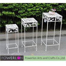 Customized 3/S Square Iron Flower Pot Stand, Indoor Plant Supports