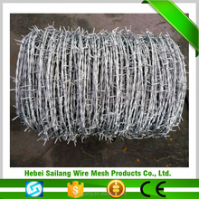 Alibaba express hot-dip galvanized barbed wire price per roll Made In China