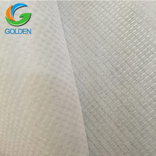 white PET nonwoven 16F needles 100% polyester stitch bond non woven fabric factory