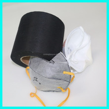 Fold-flat Particulate Respirator Nonwoven Fabric