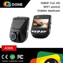 2016 Latest WiFi Car Camera,1080P Full HD G-sensor Parking Monitor Function Small Hidden Camera for Cars