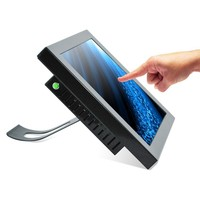 15 inch industrial touch screen all in one pc / lcd touchscreen monitor with built in computer (factory/manufactory )